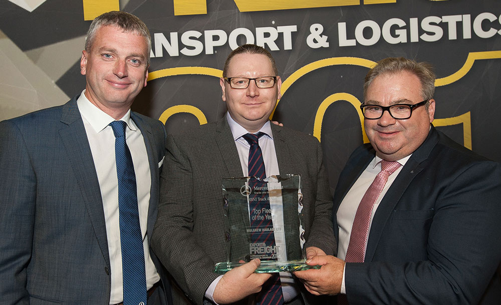 Mulgrew Haulage Win Top Fleet of the Year Award